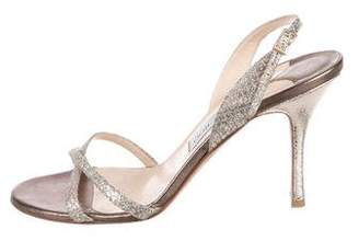 Jimmy Choo Cross-Strap Slingback Sandals