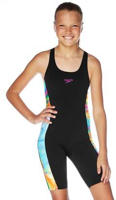 Speedo Girls Storm Leaderback Legsuit
