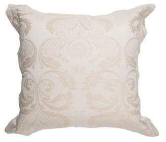 Ann Gish Damask European Throw Pillow