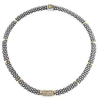 Lagos Diamond Lux Collar Necklace