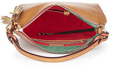 Dooney & Bourke Twist Strap Hobo Bag