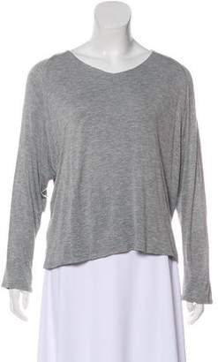 Shamask Long Sleeve Scoop Neck Top