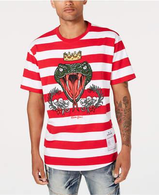 Reason Men's Striped Snake T-Shirt