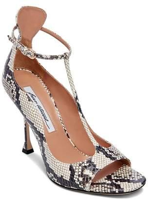 Brian Atwood Women's Samantha T-Strap High-Heel Sandals