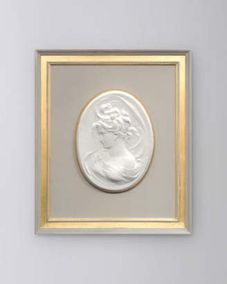 "John-Richard Collection French Nouveau II"" Framed Cameo Wall Art"