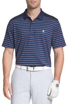 Izod Golf Classic-Fit Feed Stripe Polo