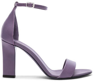 Victoria Beckham Leather Anna Ankle Strap Sandals