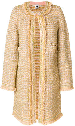 M Missoni embroidered tailored coat
