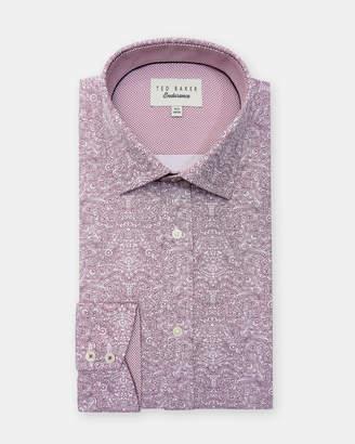 Ted Baker QUIZZ Marl print cotton shirt
