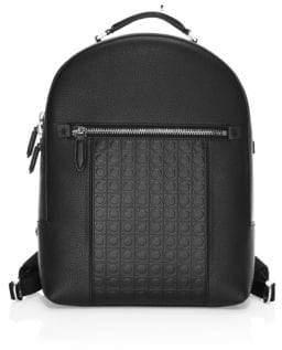 Salvatore Ferragamo Firenze Gamma Leather Backpack