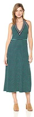 Cynthia Rowley Women's Lisbon Striped Halter Dress