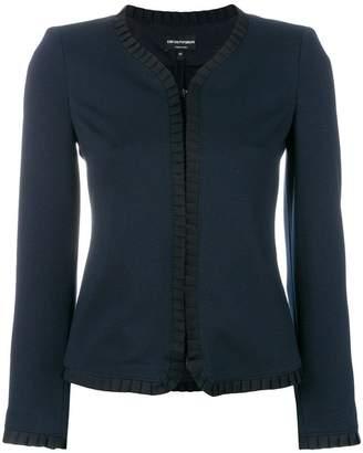 Emporio Armani cropped tailored jacket