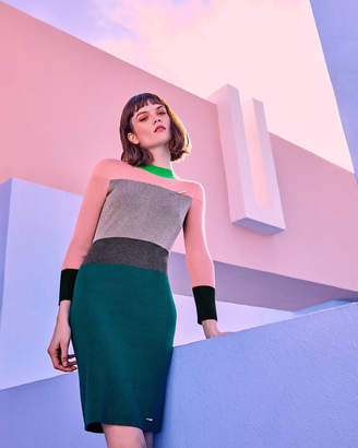 Ted Baker REII Color-block knitted dress