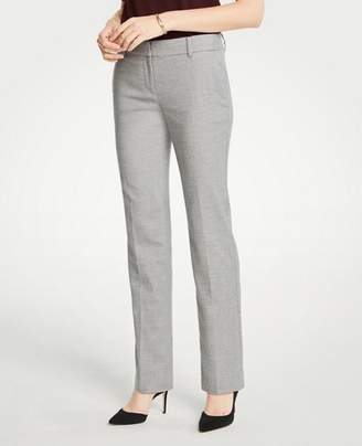 Ann Taylor The Petite Straight Leg Pant In Flannel - Curvy Fit