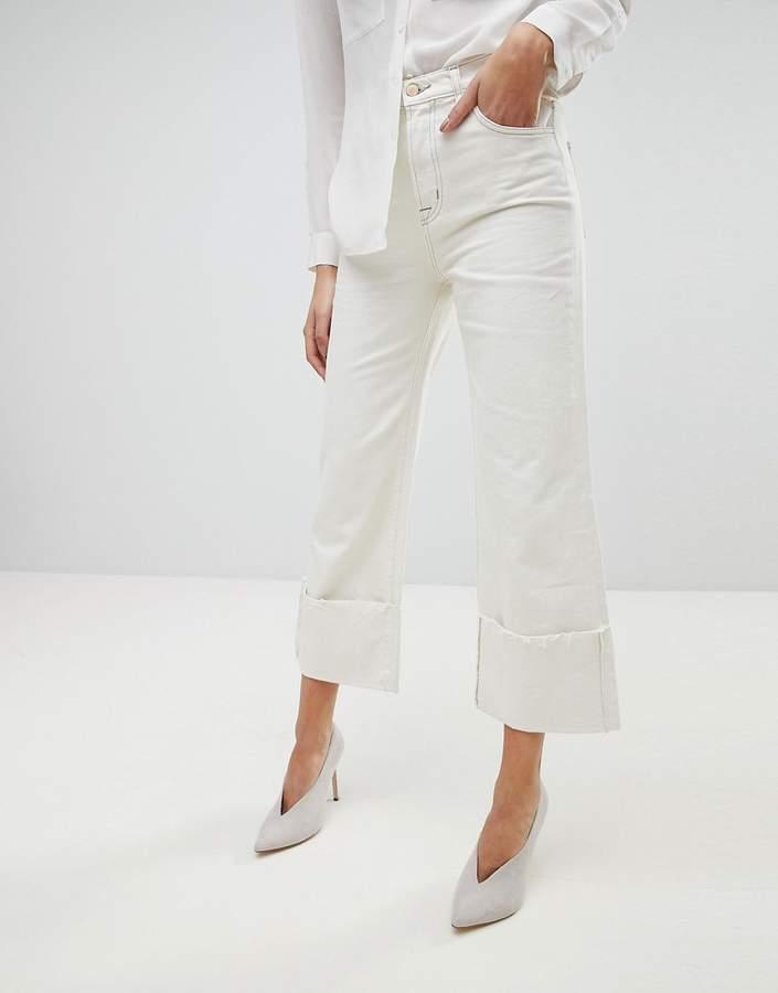 – Joan – Mom-Jeans mit umgeschlagenem, abgeschnittenem Saum