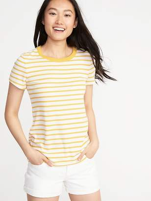 Old Navy Slim-Fit Rib-Knit Tee for Women