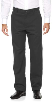 Croft & Barrow Men's Relaxed-Fit Easy-Care Stretch Flat-Front Casual Pants