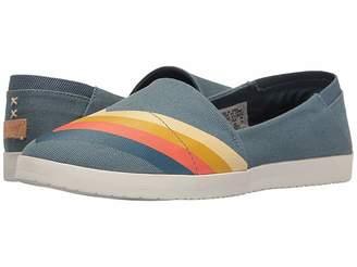 Reef Rose Print Women's Slip on Shoes