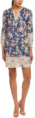 Rebecca Taylor Gigi Silk Shift Dress
