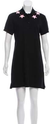 Givenchy Short Sleeve Mini Dress