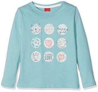 S'Oliver Baby Girls' 65.808.31.8139 Longsleeve T-Shirt
