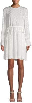 Sandro Women's H16 Lori Polka Dot Dress