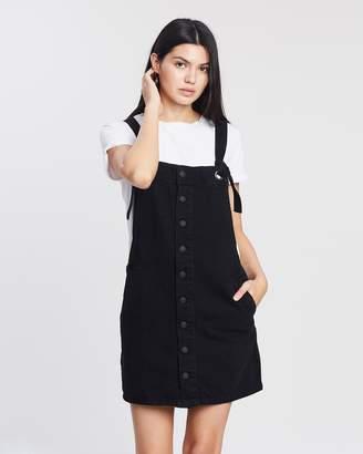 Mng Basic Dungaree Dress