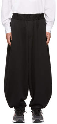 Comme des Garcons Black Smooth Balloon Lounge Pants