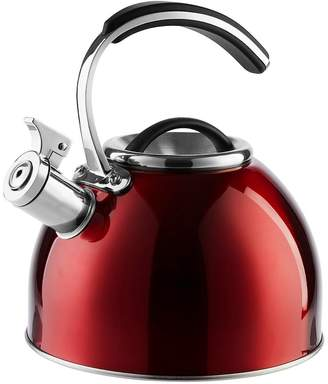 Morphy Richards Accents 3-Litre Whistling Stove Top Kettle – Red