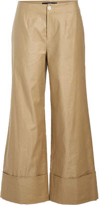 Steffen Schraut Cuffed Pants with Cotton and Linen