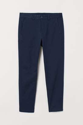 H&M Super Skinny Fit Chinos - Blue