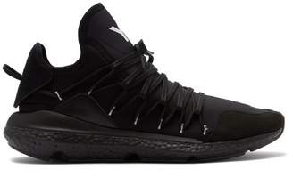 Y-3 Y 3 Kusari Neoprene Trainers - Mens - Black