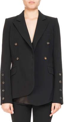 Altuzarra Asymmetric Wrap-Front Jacket
