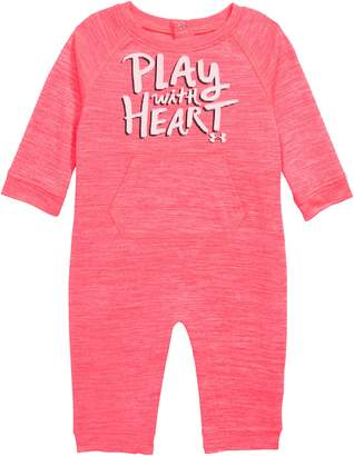 Under Armour Play with Heart Graphic Romper