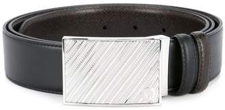 Gieves & Hawkes slide catch buckle belt