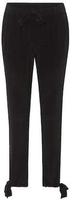 81 Hours 81hours Sue silk crêpe de chine trousers