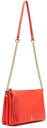 Ladybird Thacker New York Chain Clutch In Siren & Gold