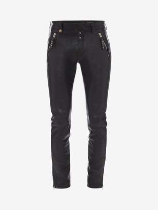 Alexander McQueen Leather Pants
