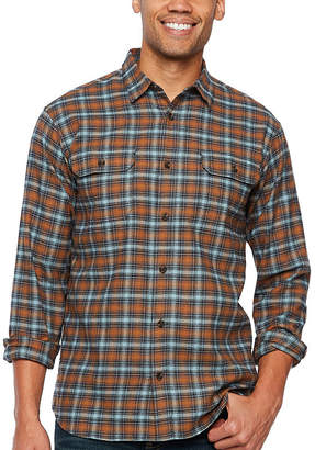 Dickies Mens Long Sleeve Flannel Shirt