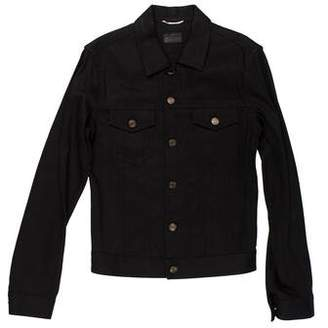 Saint Laurent Denim Button-Up Jacket