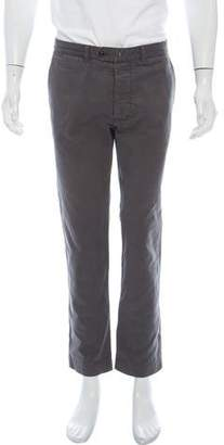 Officine Generale Woven Tonal Pants