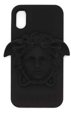 Versace Medusa Iphone 8 Case - Mens - Black