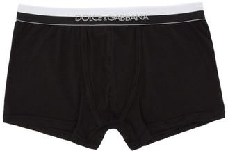 Dolce & Gabbana Black Regular Boxer Briefs