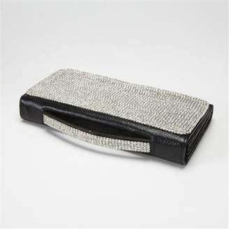 Black Diamond Alexander Kalifano SW-002-BD Wallet with Handle Made with Crystals
