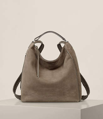 AllSaints Cooper Leather Large Backpack
