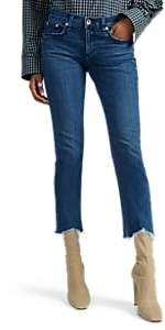 Rag & Bone Women's Dre Capri Jeans - Md. Blue
