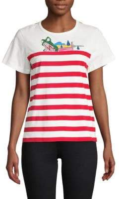 Marc Jacobs Classic Stripe Cotton Tee