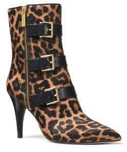 MICHAEL Michael Kors Lorie Cheetah Print Calf Hair Booties
