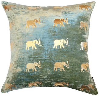 Meru 22x22 Pillow - Seafoam - Thurston Reed