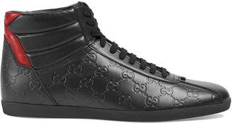 Gucci Signature high-top sneakers